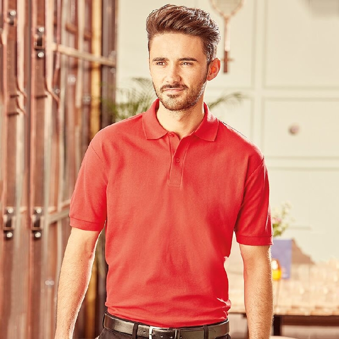 Russell Poly Cotton Polo
