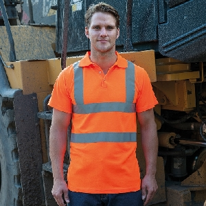 Image of our product RTY High Visibility Polo